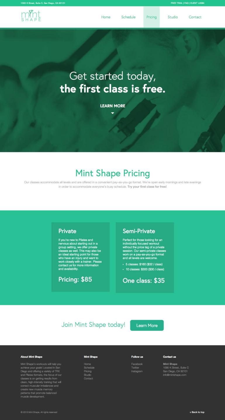 Mint Shape